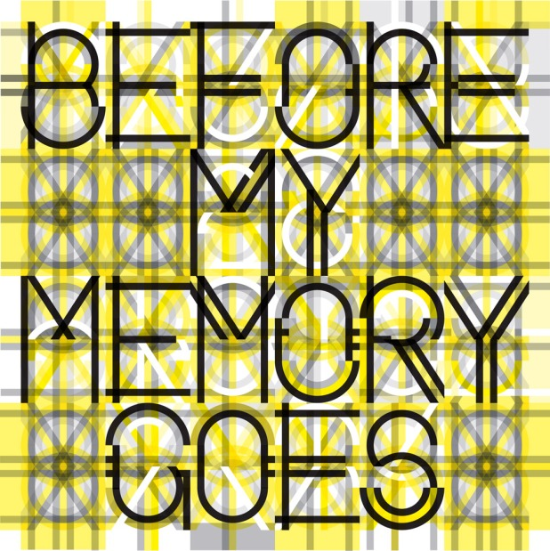 before my memory goes